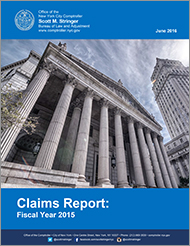 Microsoft Word - Claims Report FY 2015 FINAL 6 14 16