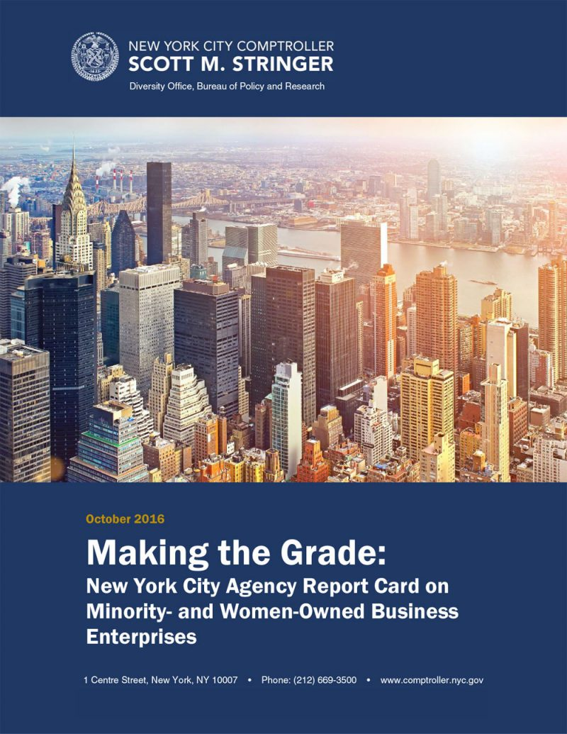 making the grade 2016 office of the new york city comptroller