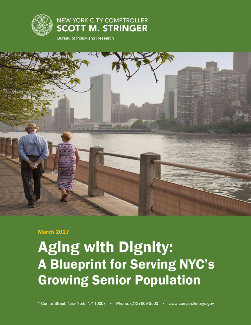 Aging with Dignity: A Blueprint for Serving NYC's Growing