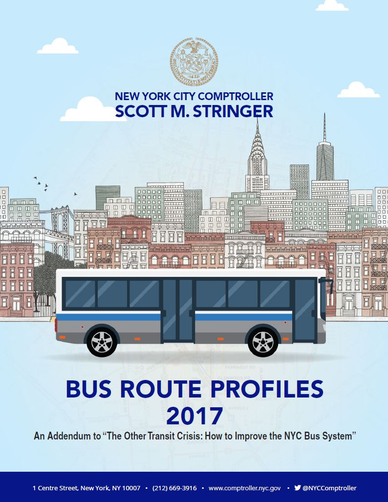 Bus Route Profiles Office Of The New York City Comptroller Scott M Stringer