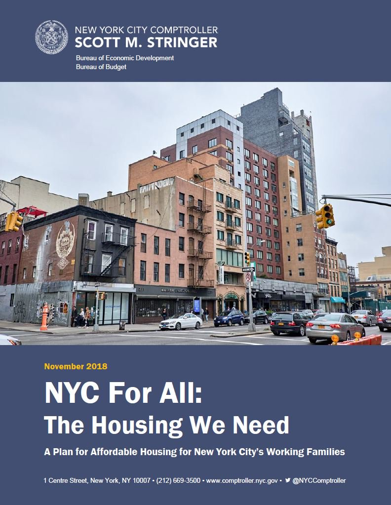 nyc for all the housing we need office of the new york city