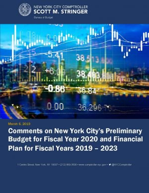 Comments on NYC Preliminary Bual Plan for FY 2019-2023 Thumbnail
