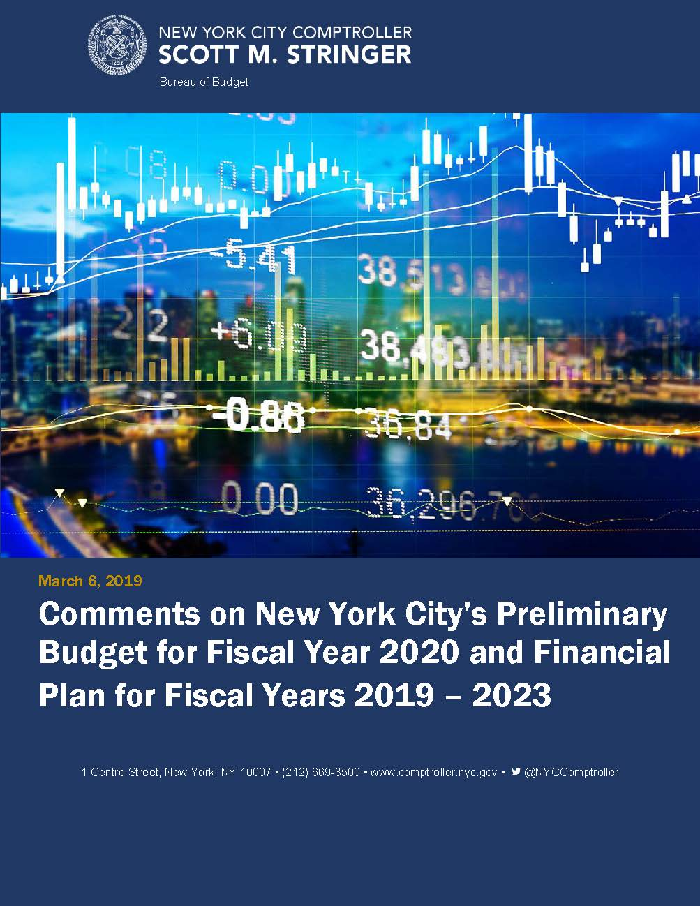 Comments on New York City's Preliminary Budget for Fiscal
