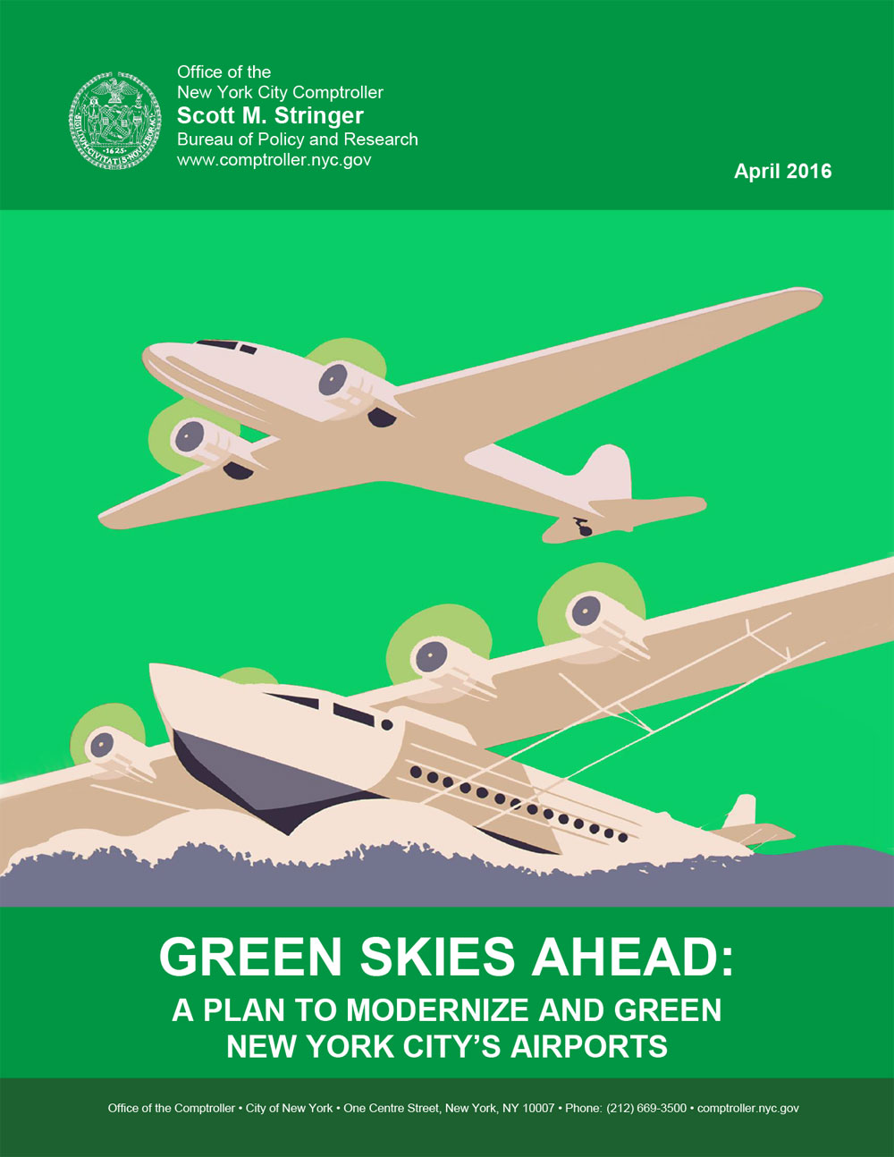 green skies ahead a plan to modernize and green new york city s