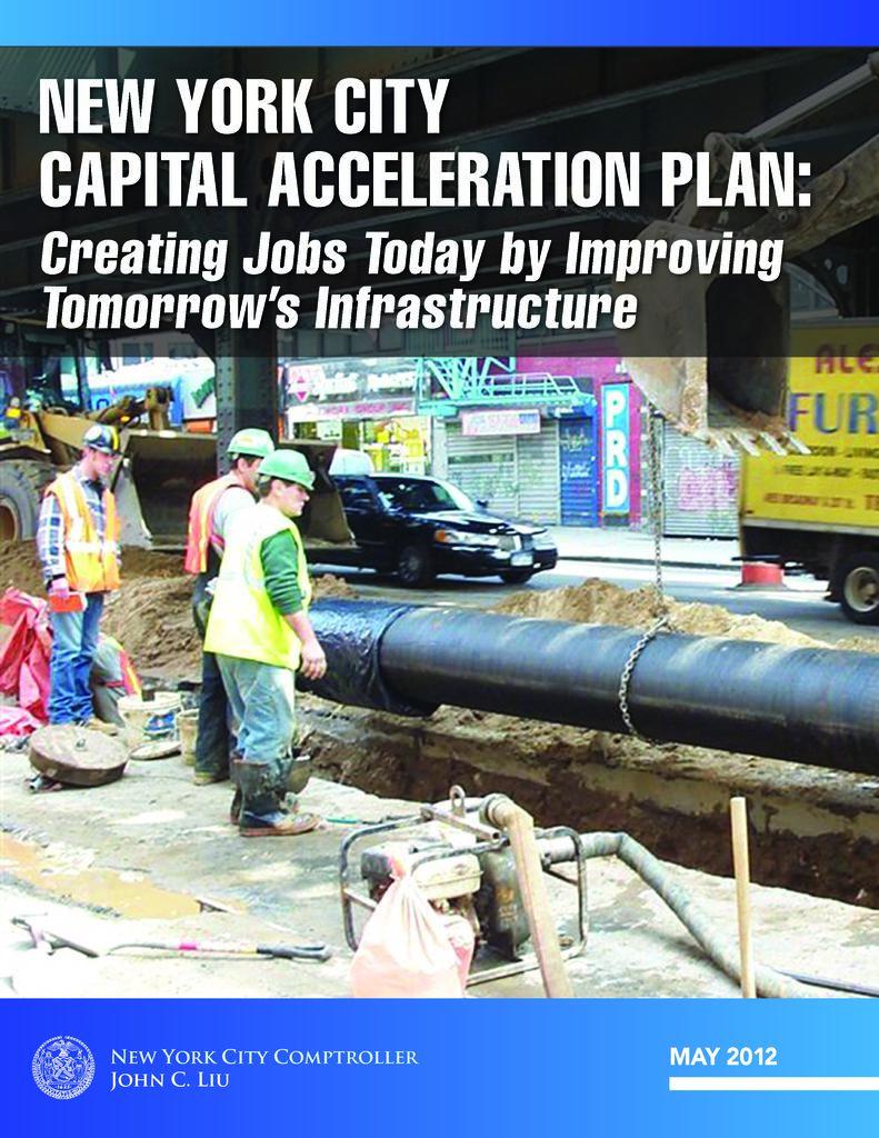 New York City Capital Acceleration Plan: Creating Jobs